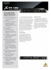 Behringer X32 DIGITAL MIXER DJ Equipment Manual (4 pages)