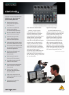 Behringer XENYX 10B DJ Equipment Manual (4 pages)