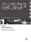 Behringer Xenyx 502 DJ Equipment Manual (17 pages)