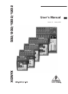 Behringer Xenyx 502 DJ Equipment Manual (11 pages)