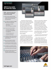 Behringer Xenyx XL1600 DJ Equipment Manual (8 pages)