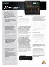 Behringer X32 DIGITAL MIXER DJ Equipment Manual (6 pages)
