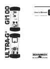Behringer Ultra-G GI100 DJ Equipment Manual (12 pages)