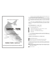 Electro fisher SAMUS - 725G Fish Finder Manual (6 pages)