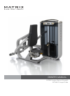 Matrix ULTRA Single-Station Strength Home Gym Manual (24 pages)