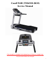 Horizon Fitness Adventure 4 Plus Treadmill Manual (14 pages)