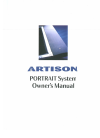 Artison PORTRAIT System Home Theater System Manual (23 pages)