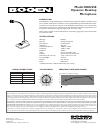 Bogen DDU250 Microphone Manual (1 pages)