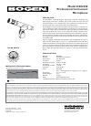 Bogen HCU350 Microphone Manual (1 pages)