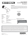 Bogen HDO100 Microphone Manual (1 pages)