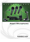 Bogen Microphones Microphone Manual (8 pages)