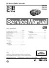 Philips AZ1050 Radio Manual (28 pages)