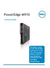 Dell PowerEdge M910 Desktop Manual (49 pages)