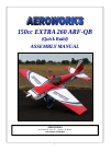 AeroWorks EXTRA 260 ARF-QB Toy Manual (105 pages)