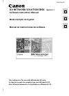 Canon 2MC - Elura 2MC MiniDV Digital Camcorder Digital Camera Manual (57 pages)