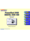 Canon PowerShot S400 Digital Camera Manual (138 pages)