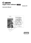 Canon DC50 Digital Camera Manual (91 pages)