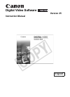 Canon 2055B001 - DC 50 Camcorder Digital Camera Manual (76 pages)