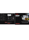 Canon HR10 Digital Camera Manual (2 pages)
