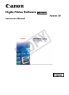 Canon DC330 Digital Camera Manual (73 pages)