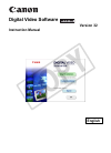 Canon VIXIA HF S10 Digital Camera Manual (75 pages)