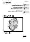 Canon 40MC - Elura MiniDV Digital Camcorder Digital Camera Manual (174 pages)