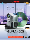 Canon 40MC - Elura MiniDV Digital Camcorder Digital Camera Manual (6 pages)