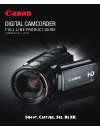 Canon VIXIA HF S10 Digital Camera Manual (25 pages)