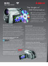 Canon DC50 Digital Camera Manual (2 pages)