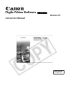 Canon HG10 Digital Camera Manual (75 pages)