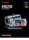 Canon HG10 Digital Camera Manual (3 pages)