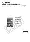 Canon HR10 Digital Camera Manual (89 pages)