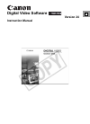 Canon HV20 Digital Camera Manual (76 pages)