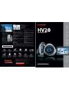 Canon HV20 Digital Camera Manual (2 pages)