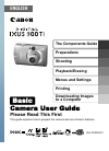 Canon PowerShot SD900 Digital Camera Manual (37 pages)