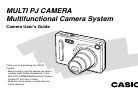 Casio E MULTI PJ CAMERA Multifunctional Camera System Digital Camera Manual (174 pages)
