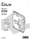 Casio EX S100 - EXILIM CARD Digital Camera Digital Camera Manual (207 pages)