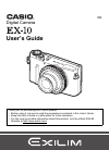 Casio EX-10 Digital Camera Manual (229 pages)
