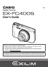 Casio EX-FC400S Digital Camera Manual (237 pages)