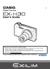 Casio EX-H30 Digital Camera Manual (196 pages)