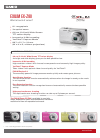 Casio EX-Z80BK Digital Camera Manual (1 pages)