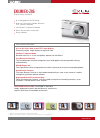 Casio EXZ85BN Digital Camera Manual (1 pages)